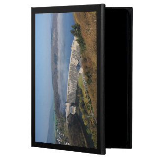 Edersee concrete dam with fog powis iPad air 2 case