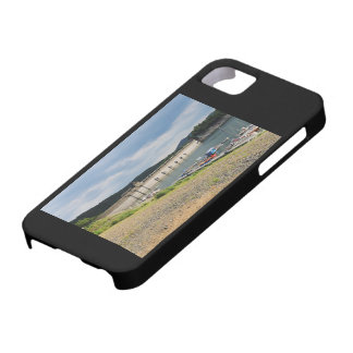 Edersee concrete dam with low water barely there iPhone 5 case