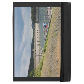 "Edersee concrete dam with low water iPad pro 12.9"" case"