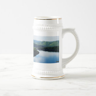 Edersee prospect of closed forest-hits a corner beer stein