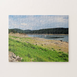 Edersee village place of Berich Jigsaw Puzzle