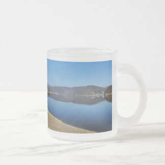 Edersee when bringing living frosted glass coffee mug