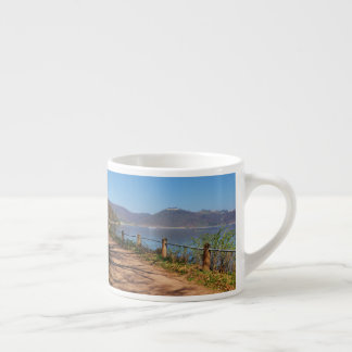Edersee with lock forest-hit a corner espresso cup
