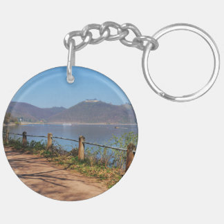 Edersee with lock forest-hit a corner key ring