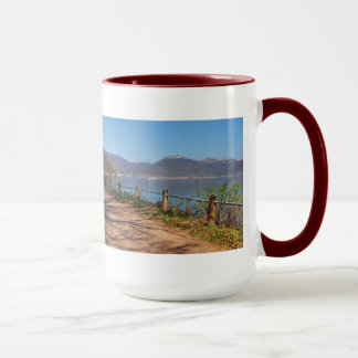Edersee with lock forest-hit a corner mug