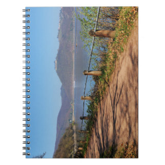 Edersee with lock forest-hit a corner notebooks