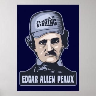 Edgar A Peaux Poster