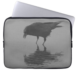 Edgar Allan Crow Laptop Sleeve
