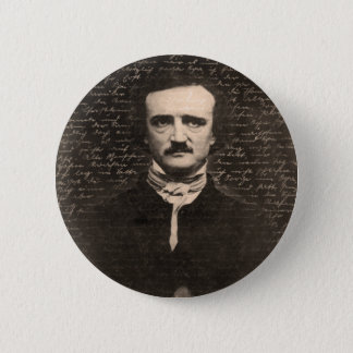 Edgar Allan Poe 6 Cm Round Badge