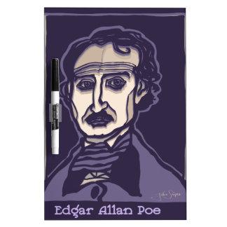 Edgar Allan Poe by FacePrints Dry Erase Board