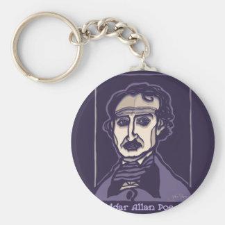 Edgar Allan Poe by FacePrints Key Ring