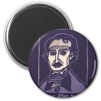 Edgar Allan Poe by FacePrints Magnet
