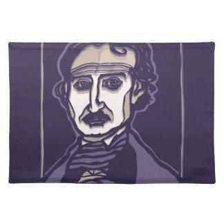 Edgar Allan Poe by FacePrints Placemat