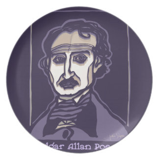 Edgar Allan Poe by FacePrints Plate