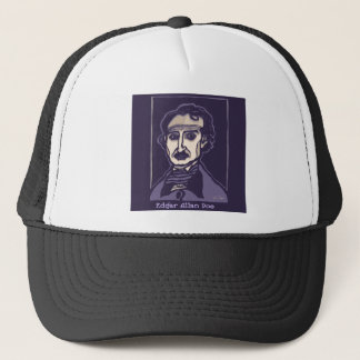 Edgar Allan Poe by FacePrints Trucker Hat