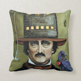 Edgar Allan Poe Cushion
