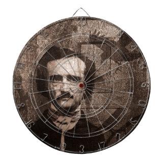 Edgar Allan Poe Dart Board