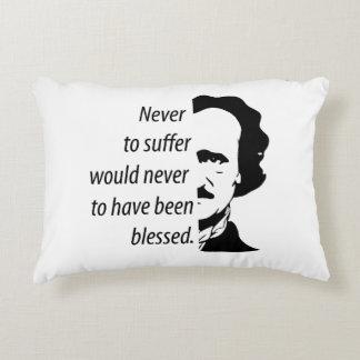 Edgar Allan Poe Decorative Cushion