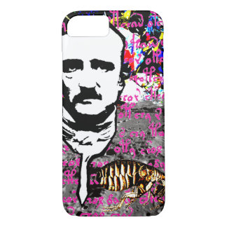 Edgar Allan Poe Flea Moon Lunar Voynich Manuscript iPhone 8/7 Case
