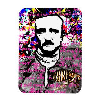 Edgar Allan Poe Flea Moon Lunar Voynich Manuscript Magnet