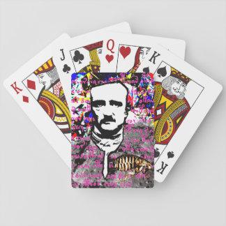 Edgar Allan Poe Flea Moon Lunar Voynich Manuscript Playing Cards