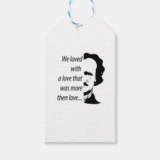 Edgar Allan Poe Gift Tags