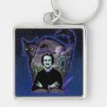 Edgar Allan Poe Gothic Keychains