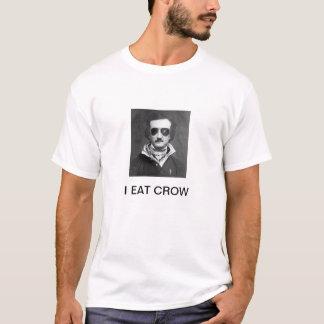 "EDGAR ALLAN POE ""I EAT CROW"" T-Shirt"