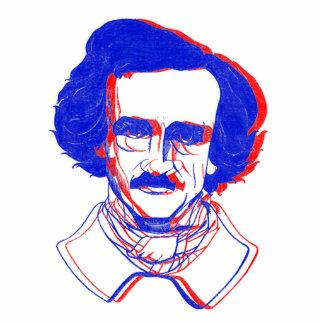 Edgar Allan Poe in 3D Photo Sculpture Decoration