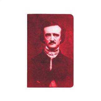 Edgar Allan Poe in Red Journal