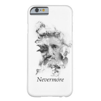 Edgar Allan Poe in Smoke with Raven - Nevermore Barely There iPhone 6 Case