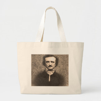 Edgar Allan Poe Large Tote Bag
