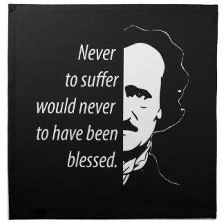 Edgar Allan Poe Napkin