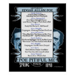 Edgar Allan 'Poe Pitiful Me' Tour Poster
