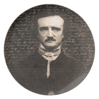 Edgar Allan Poe Plate
