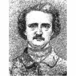 Edgar Allan Poe Portrait Standing Photo Sculpture