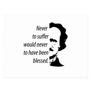 Edgar Allan Poe Postcard