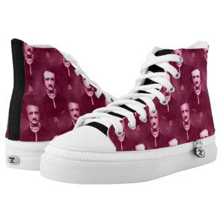 Edgar Allan Poe Printed Shoes