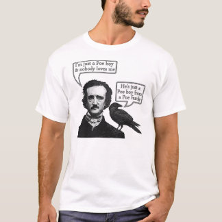 Edgar Allan Poe Riffs On Queen's Bohemian Rhapsody T-Shirt