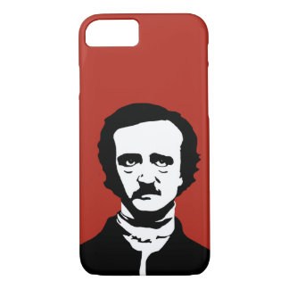 Edgar Allan Poe Silhouette iPhone 8/7 Case