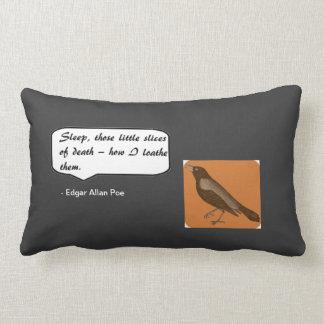 Edgar Allan Poe Sleep Pillow