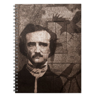 Edgar Allan Poe Spiral Notebook