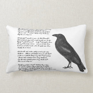 "Edgar Allan Poe ""The Raven"" Throw Pillow"