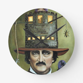 Edgar Allan Poe Wall Clocks