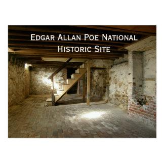 Edgar Allan Poe's Basement Postcard