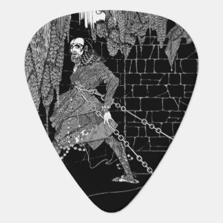 Edgar Allan Poe's Cask of Amontillado Guitar Pick
