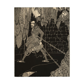 Edgar Allan Poe's Cask of Amontillado Wood Print
