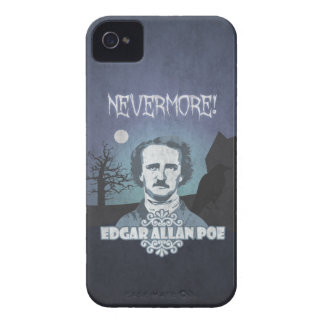 Edgar Allan Poe's Nevermore iPhone 4 Cases