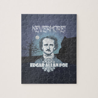 Edgar Allan Poe's Nevermore Jigsaw Puzzle
