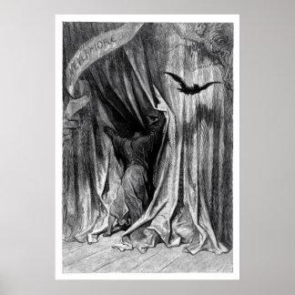 Edgar Allan Poe's Raven - Nevermore Poster